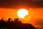 Partial Solar Eclipse - 15 Jan 2010, Sounio Greece